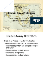 7.1 Islam in Malay Civilization