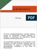 Procesos Manufactura Torno