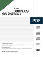 Cdj-2000nxs Operating Manual - Esp