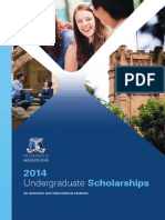 2014 UG Scholarships Brochure