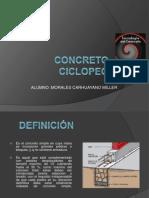 CONCRETO-CICLOPEO