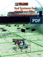Tie Rod Tie Back Systems