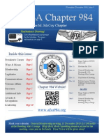 Chapter 984 Dec Newsletter