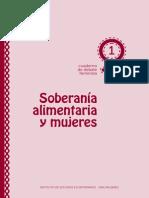 SOBERANIA ALIMENTARIA Y MUJERES