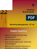 ABM 502 Creating Brand Equity