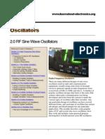Oscillators Module 02