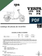Motor vespa 125 part