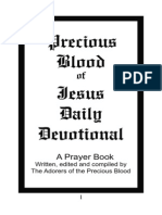 Precious Blood Devotional Prayer Book Complete