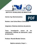 Investigacion Rodamientos y Lubricantes