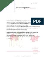 Internship Report on Tapal Tea (Pvt) Ltd.
