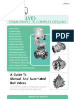 A Guide to Manual and Automated Ball Valves