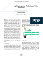 Data Minder using Steganography