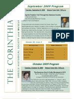The Corinthian September/October 2009