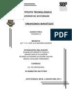 Organismos Bursatiles Finanzas III