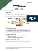 CCDA FAQ