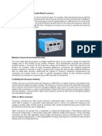 Frequency Converter Rental - Manufactures and Supplies Power Conversion Equipment