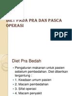 Diet Pada Pra Dan Pasca Operasi