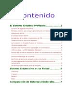 Analisis Comparado Del Sistema Electoral Mexicano