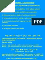 Quimica Analitica 2 - Electroanalisis Clase 2010