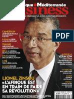 Afrique M Diterran e Business N 3 Novembre D Cembre 2013 Janvier 2014