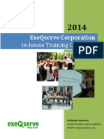 ExeQserve in-House Training Catalogue 2014 (2)