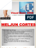 MELJUN CORTES Visual Basic 2005 - 05 Object-Oriented Programming