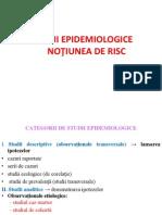 Stagiul II - Studii Epidemiologice Si Notiunea de Risc