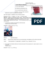 noah e reaction observations lab