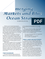 Emerging Markets and Blue Ocean Strategy