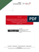 RECONFIGURACIONES CONCEPTUALES POLÍTICAS Y TERRITORIALES EN LAS Autonomias
