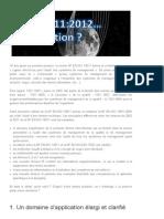 L'ISO 19011 version 2012 quelles nouveautés _ _ Qualiblog