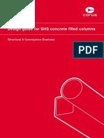 Design Guide for SHS Concreter Fillied COLUMN