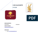 Clubes Alicante