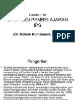 10. Strategi Pembelajaran Ips