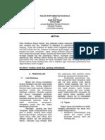 Analisis Pertumbuhan Ikan Nila