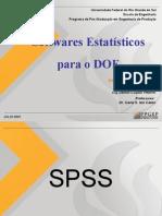 Apresentação - SPSS e Minitab - Projeto de Experimentos I