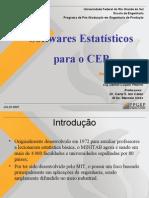 Softwares estatísticos para o CEP