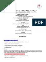 Políticas Culturais 2011 UERJ & Comcultura RJ (PROGRAMA - INFORMAÇÕES)