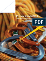 Privacy Trends 2013 - The Uphill Climb Continues