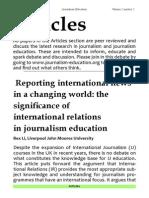 2.2 International News Changing World