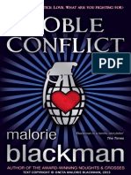 Noble Conflict by Malorie Blackman (extract)