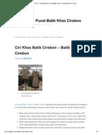 Batik Trusmi - Pusat Batik Khas CirebonBatik Trusmi – Pusat Batik Khas Cirebon.pdf