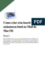 Como criar e-ou inserir assinaturas html no Mail do Mac OS.docx
