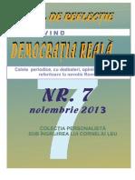 "Inițiativa ""Opriți feudalizarea României"" Nr 7"