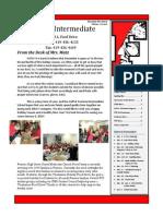 Intermediate Elementary School Newsletter