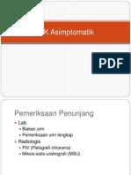 ISK Asimptomatik