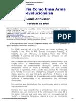 Althusser_ A Filosofia Como Uma Arma Revolucionária