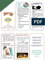Leaflet Buah