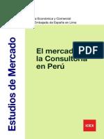 El Mercado de La Consult en Peru - ICEX