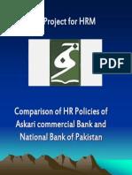 25528983 Askari Commercial Bank and NBP Comparison of HR Policies